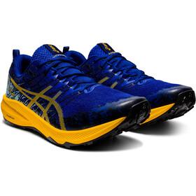 asics Fuji Lite 2 Scarpe Uomo, blu/giallo